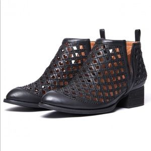 Anthropologie x Jeffrey Campbell Taggart Booties